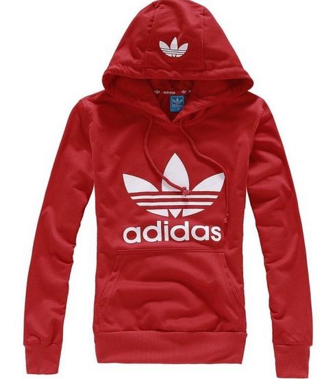 e93fe6506d5 Blusa Canguru Adidas - Vermelha com estampa branca. - MEGSUL IMPORTADOS
