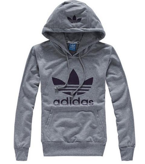 Blusa Canguru Adidas - Cinza. 9aa598383fc70