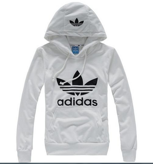 d0531eb3e55 Blusa Canguru Adidas - Branca Preta - MEGSUL IMPORTADOS